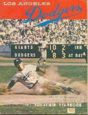 Los Angeles Dodgers Yearbook 1963.jpg (28162 bytes)